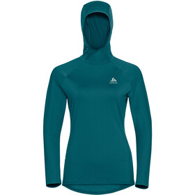 Odlo Zeroweight Ceramiwarm Hoody Dames, submerged